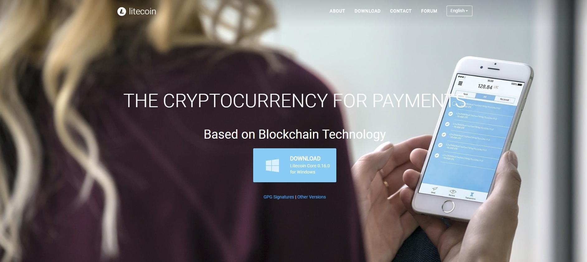 Litecoin.org Screenshot