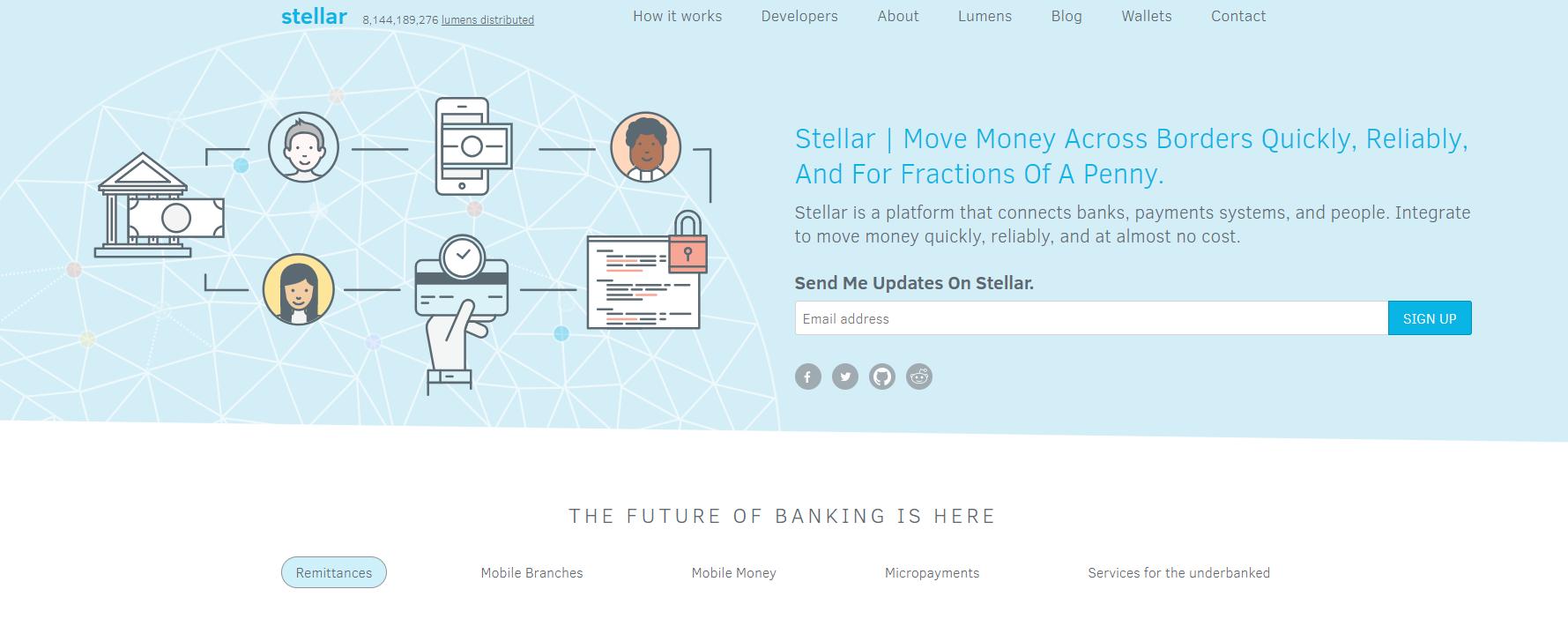 Screenshot stellar.org