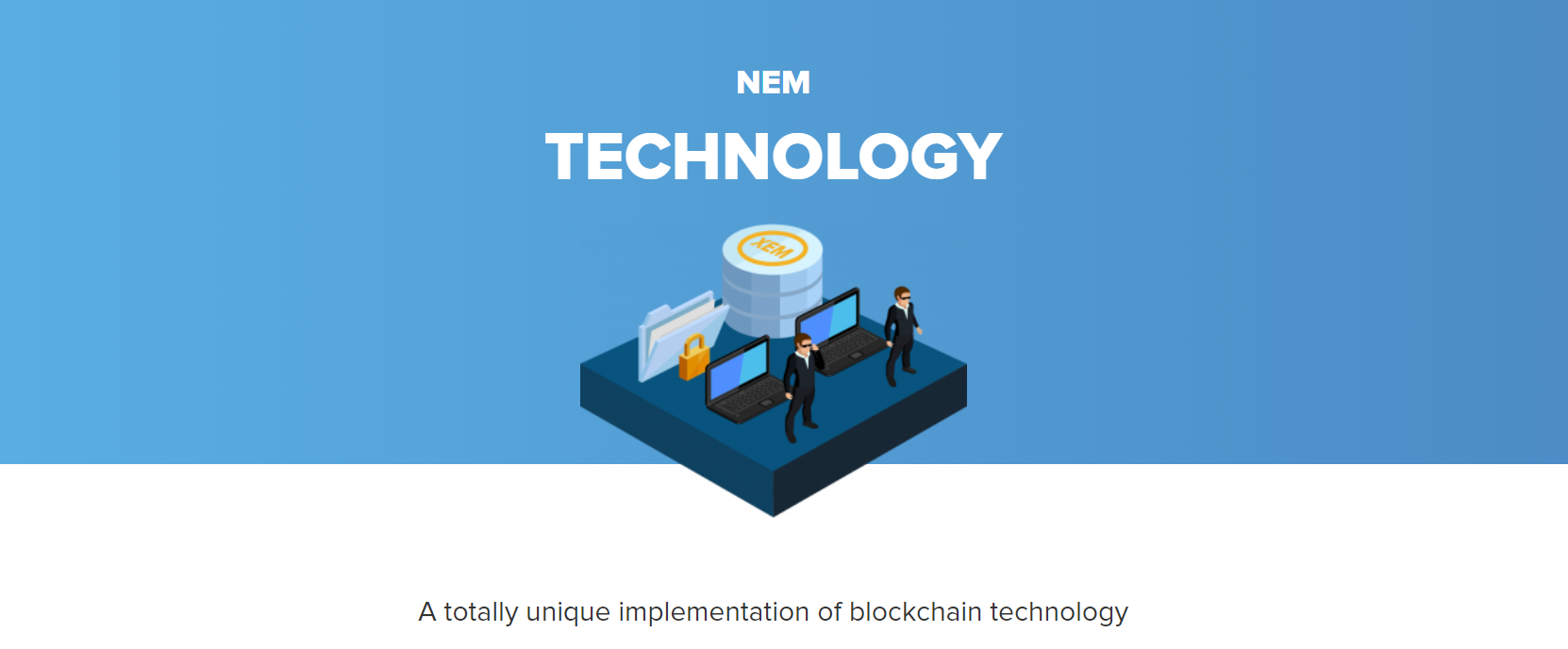 Screenshot technology // Source: nem.io